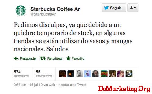 星巴克阿根廷一条微博引发的公关危机