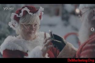 三星手机新广告 圣诞奶奶来加盟