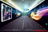北京卫视报道《天天飞车》地铁体感广告