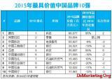 WPP、华通明略发布第五届BrandZ最具价值中国品牌100强 腾讯位居首位