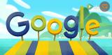 谷歌Doodle为你演绎不一样的奥运