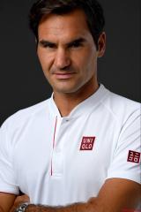 优衣库选了网球名将费德勒做全球品牌大使!
